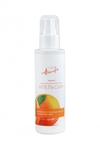 Альпика | Тоник Апельсин увлажнение и тонизация жирной и проблемной кожи, 150 мл