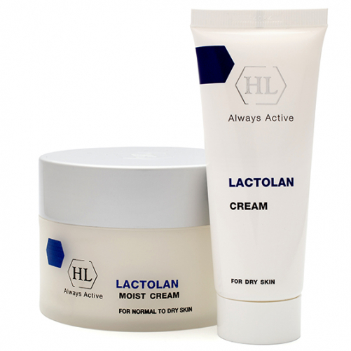Holy Land LACTOLAN Moist Cream for dry   Увлажняющий крем для сухой кожи, 70 мл
