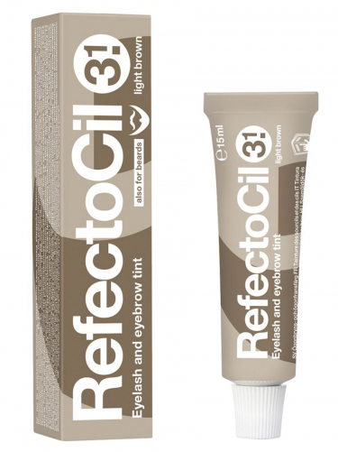 Refectocil   Краска для бровей светло-коричневая(3.1), 15 мл