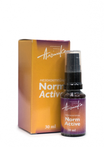 Альпика | Мезококтейль Norm Active, 30 мл